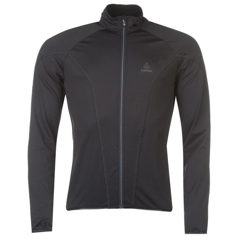 Löffler Longarm Cycling Jacket Mens Black