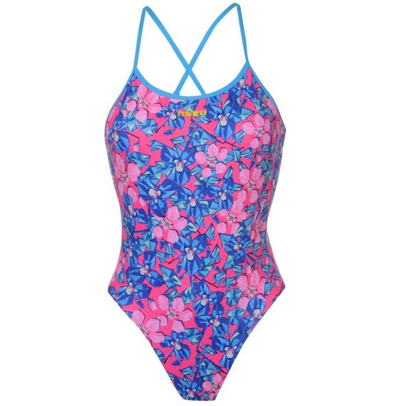 Plavky Maru Open Back Swimming Costume Ladies Busy Lizzie