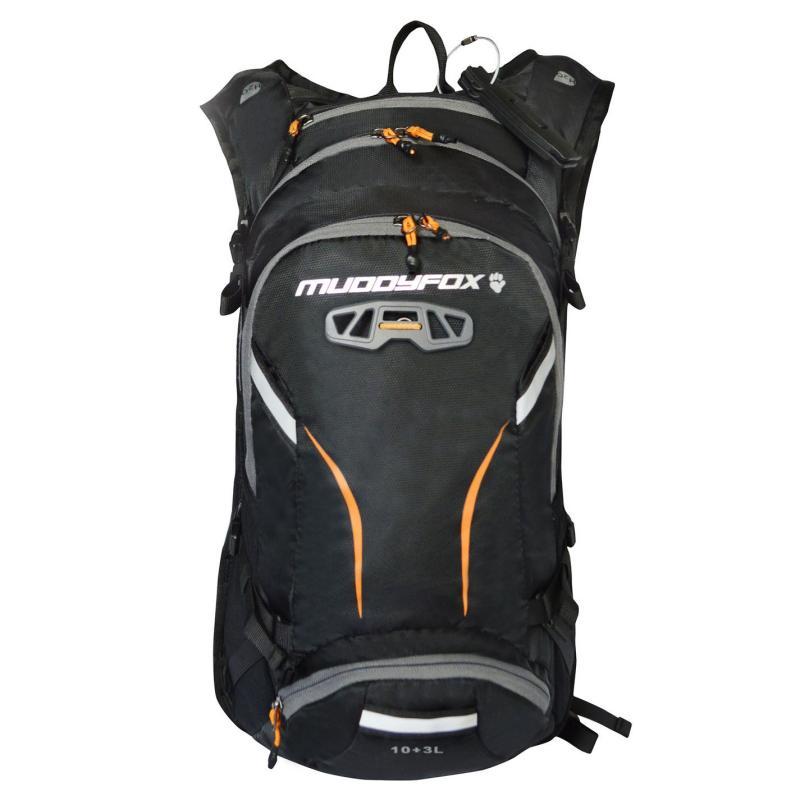 Muddyfox Buzz 10L Hydration Pack Black