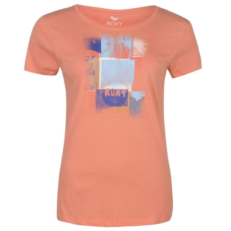 Roxy Ladies Tee Crab Apple Velikost - 12 (M)