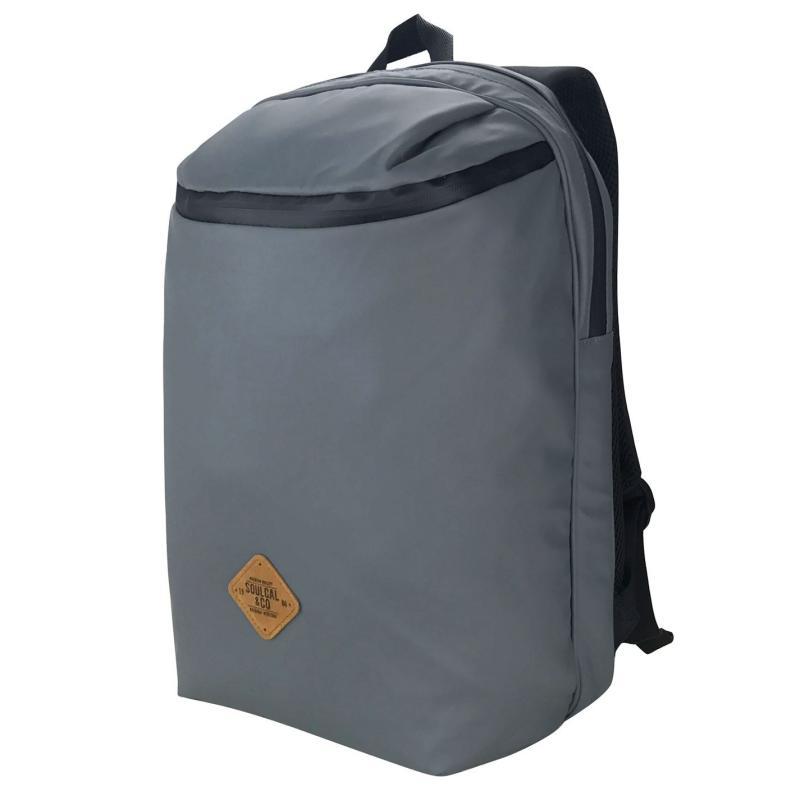SoulCal Waterproof Duffel Backpack Charcoal/Black
