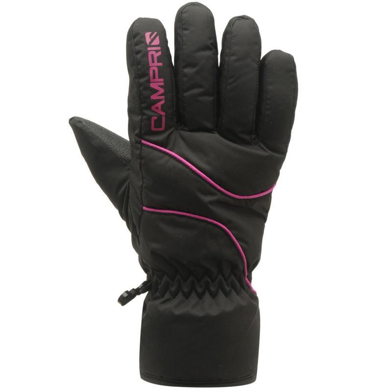 Campri Ski Glove Ld71 Black