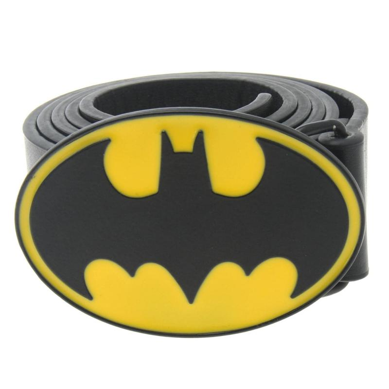 DC Comics Print Belt Mens Black/Yellow