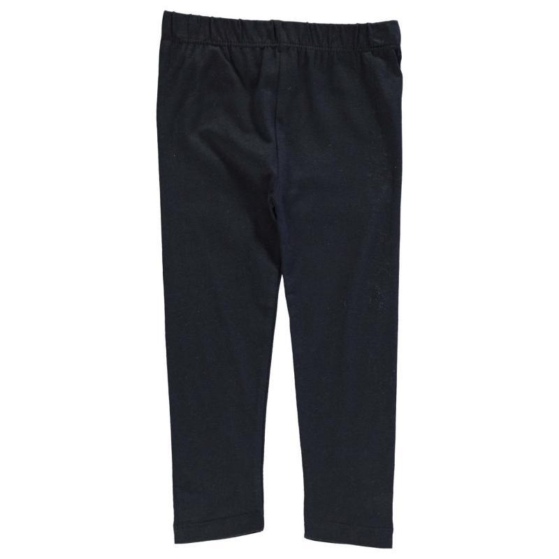 Crafted Essentials Basic Leggings Child Girls Black
