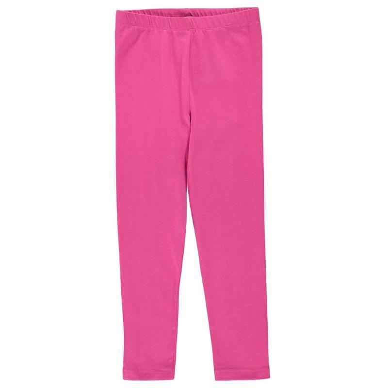 Crafted Essentials Basic Leggings Child Girls Pink
