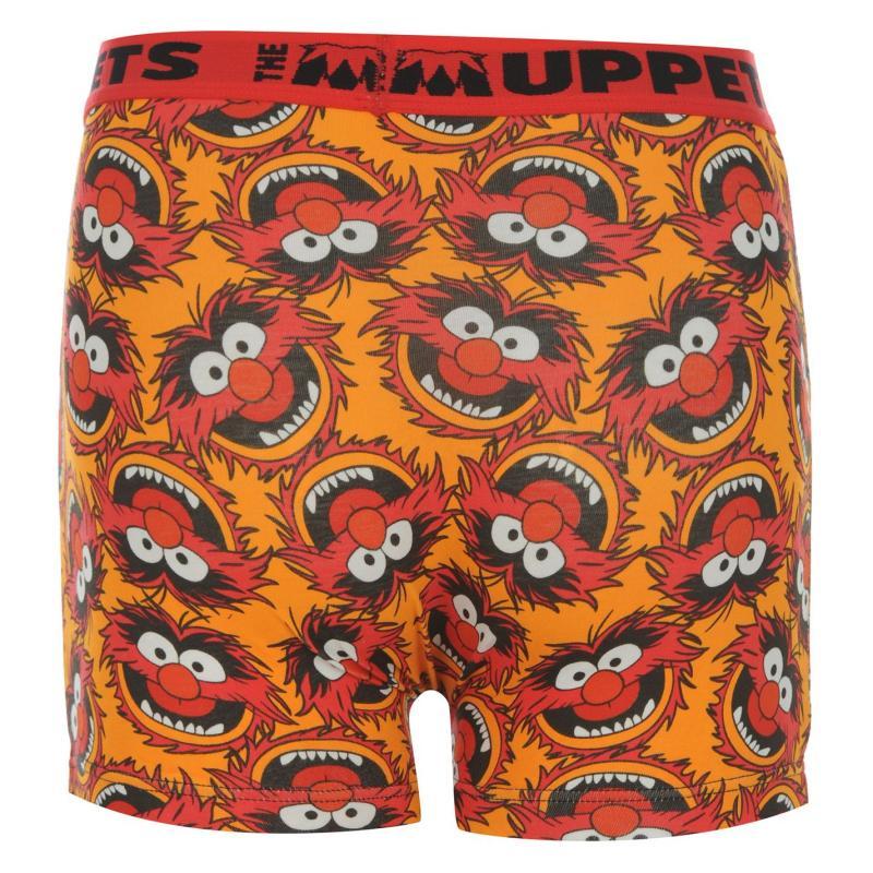 Spodní prádlo Disney Animal Single Boxer Junior Orange