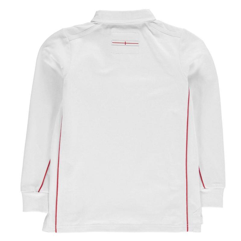 Tričko RFU England Long Sleeve Jersey Infant Boys White
