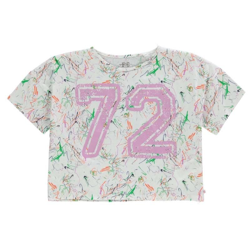 French Connection 72 Short Sleeve T Shirt Summer White