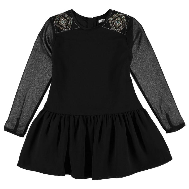Šaty French Connection Swing Dress Black