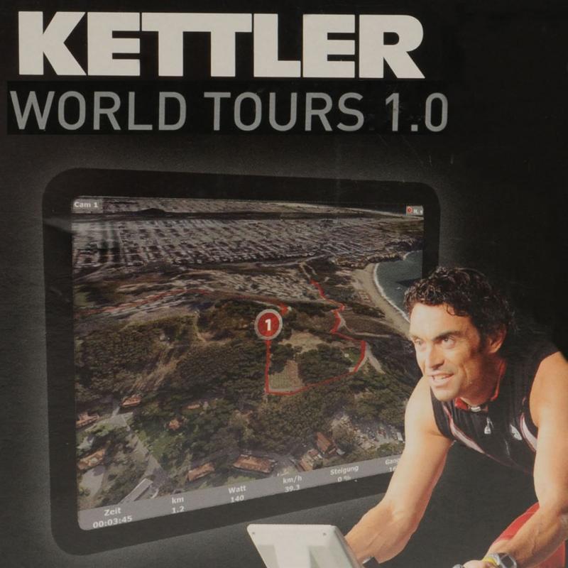 Kettler World Tours 1.0 Upgrade DVD -