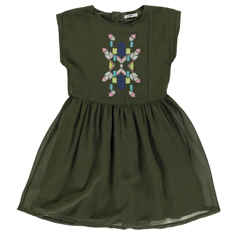 Šaty French Connection Turtle Dress Turtle Green