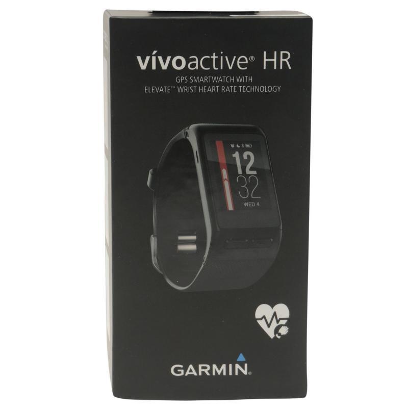 Garmin Vivo Active HR Watch Black