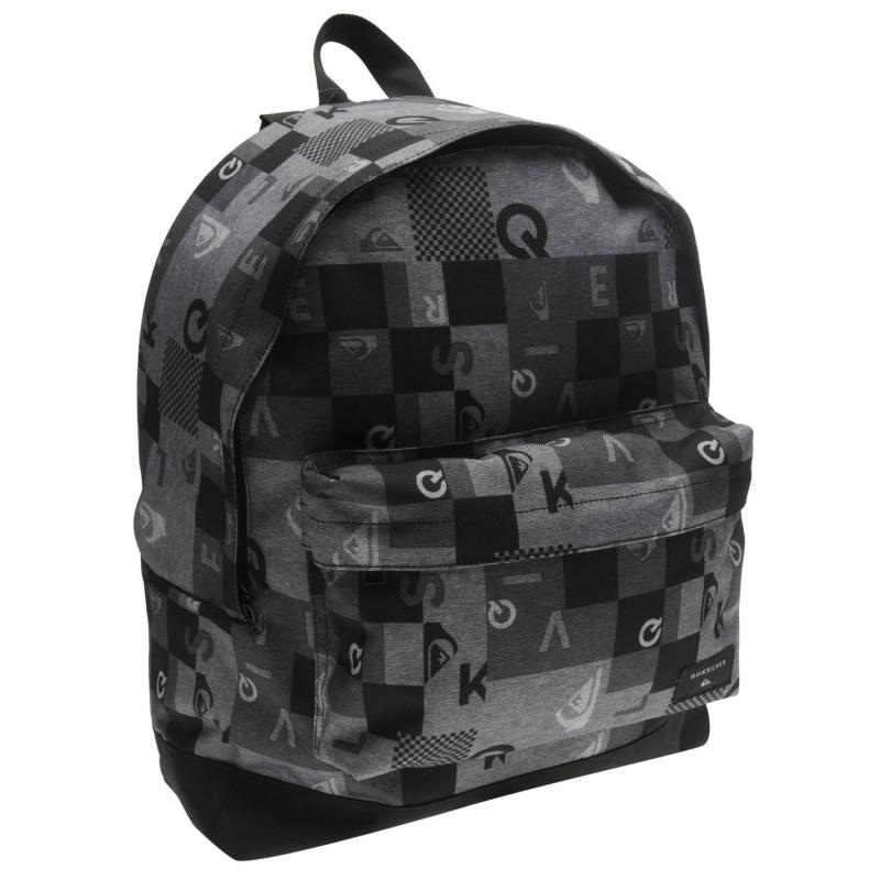 Quiksilver Checkbox Backpack Black/Grey