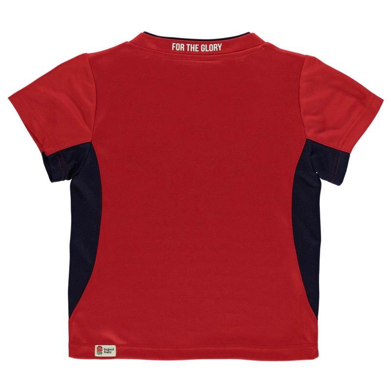 Tričko RFU England Poly T Shirt Infant Boys Red