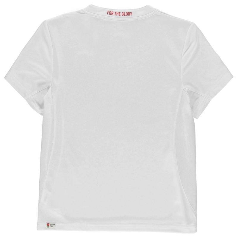Tričko RFU Poly T Shirt Junior Boys White