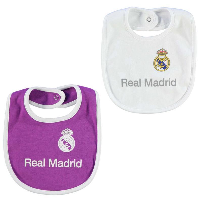 Team Football 2pk Bibs Babies Real Madrid