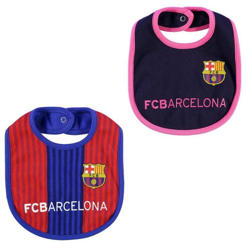 Team Football 2pk Bibs Babies Barcelona