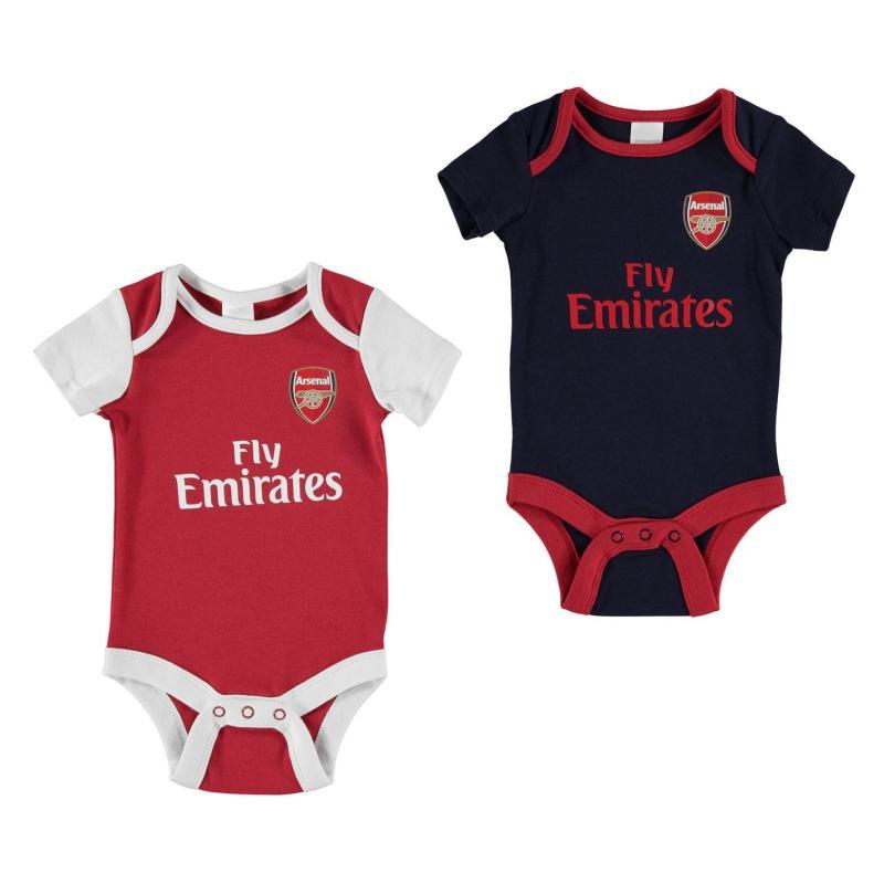 Team Football Body Vest Set Baby Boys Arsenal
