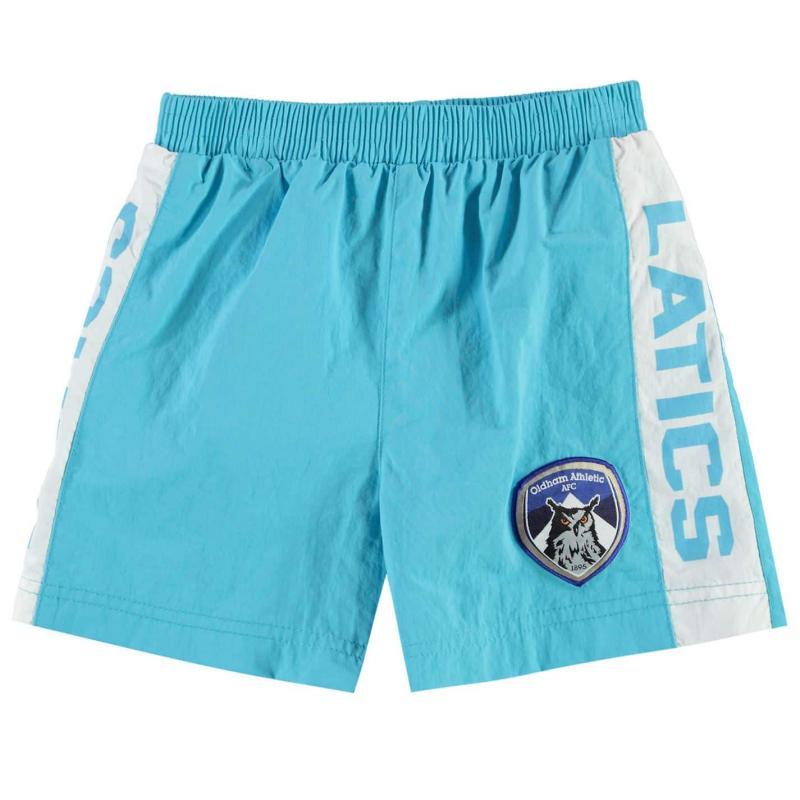 Plavky Team Oldham Athletic Swim Shorts Infant Boys Royal