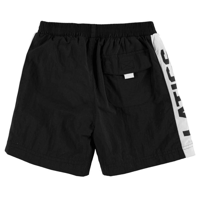 Team Oldham Athletic Swim Shorts Infant Boys Black