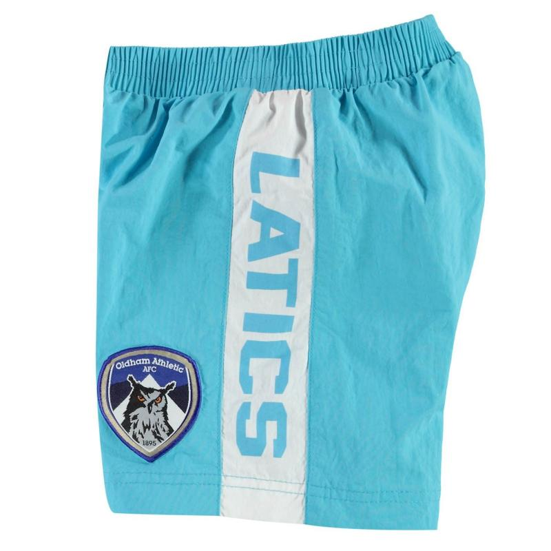 Plavky Team Oldham Athletic Swim Shorts Infant Boys Sky