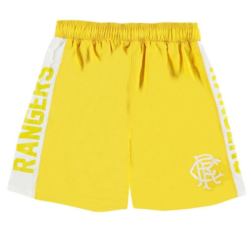 Plavky Team Rangers Swim Shorts Infant Boys Yellow