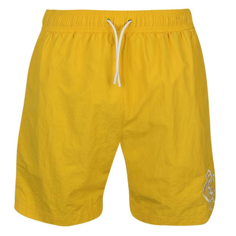 Team Rangers Swim Shorts Mens Yellow
