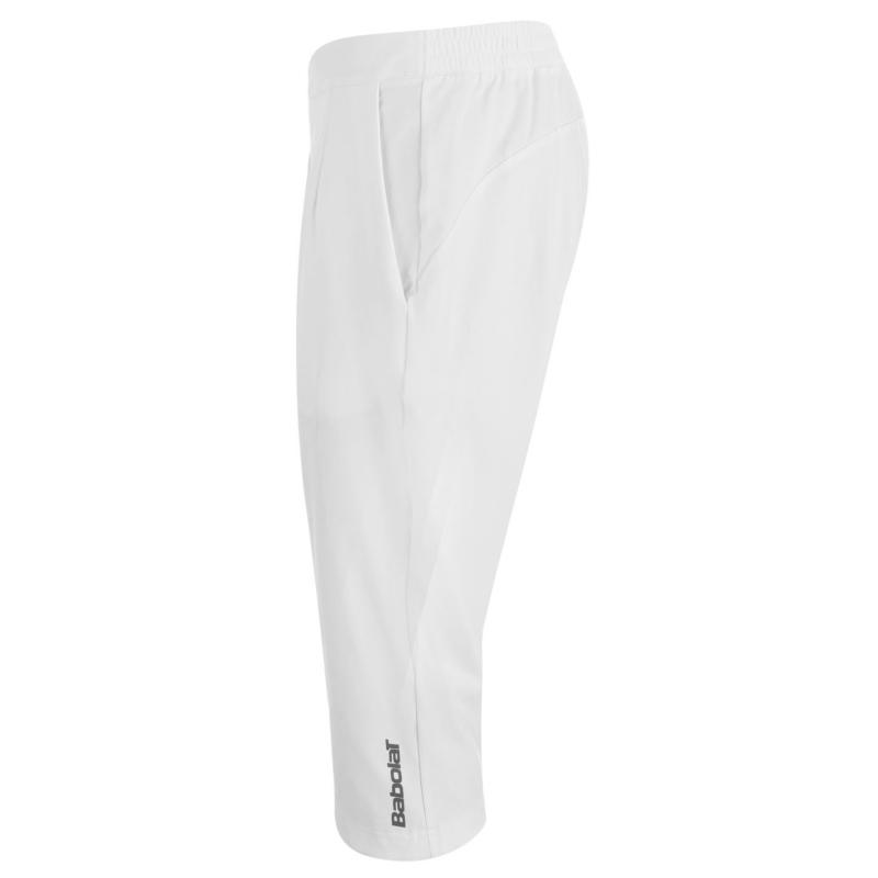 Babolat Performance Three Quarter Tennis Pants Ladies White