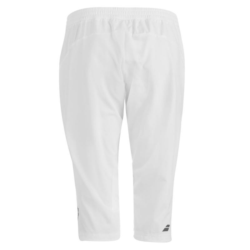 Babolat Performance Three Quarter Tennis Pants Ladies White