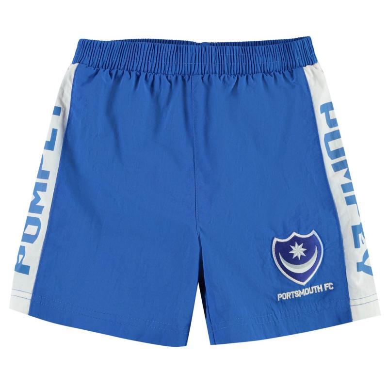 Plavky Team Portsmouth Swim Shorts Infant Boys Royal
