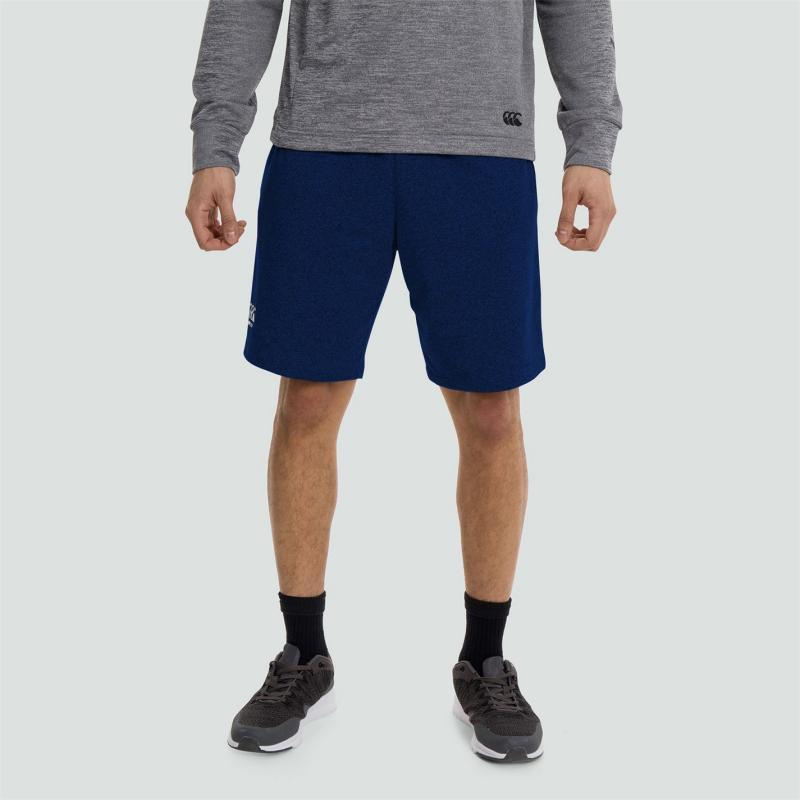 Canterbury CCC Fleece Shorts Mens Navy/White