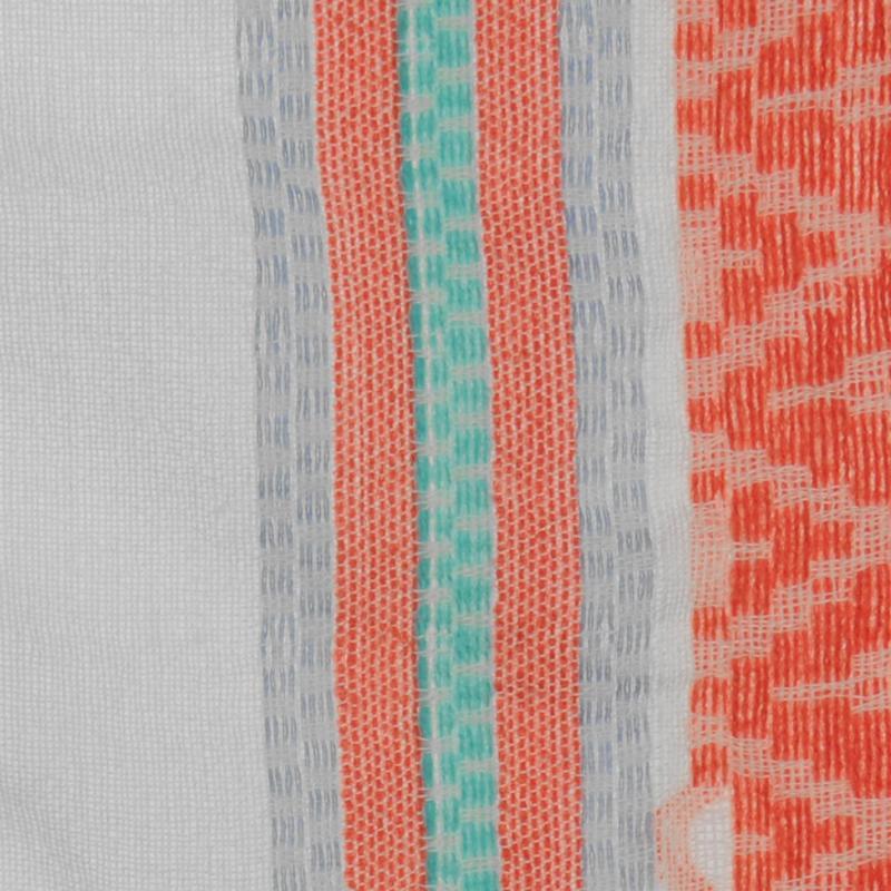 Pepe Jeans Marigot Scarf Ladies Coral/White