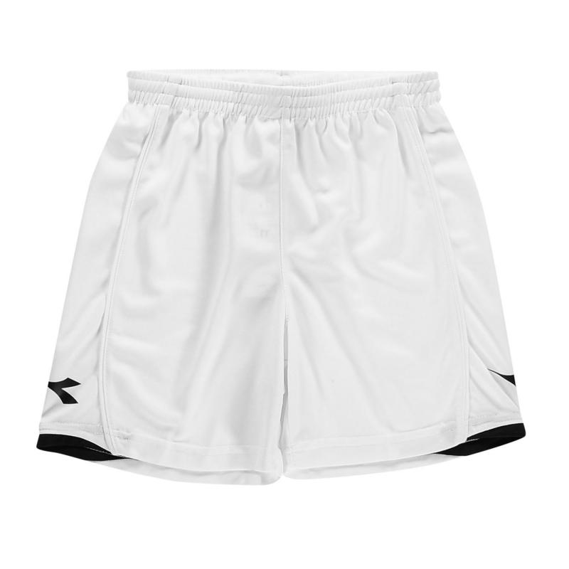 Kraťasy Diadora Kingston Shorts Junior Boys Bordeaux/White