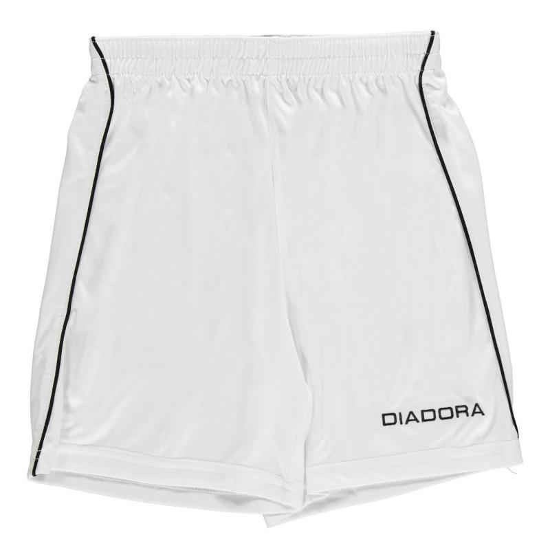 Kraťasy Diadora Madrid Shorts Junior Boys Purple/White