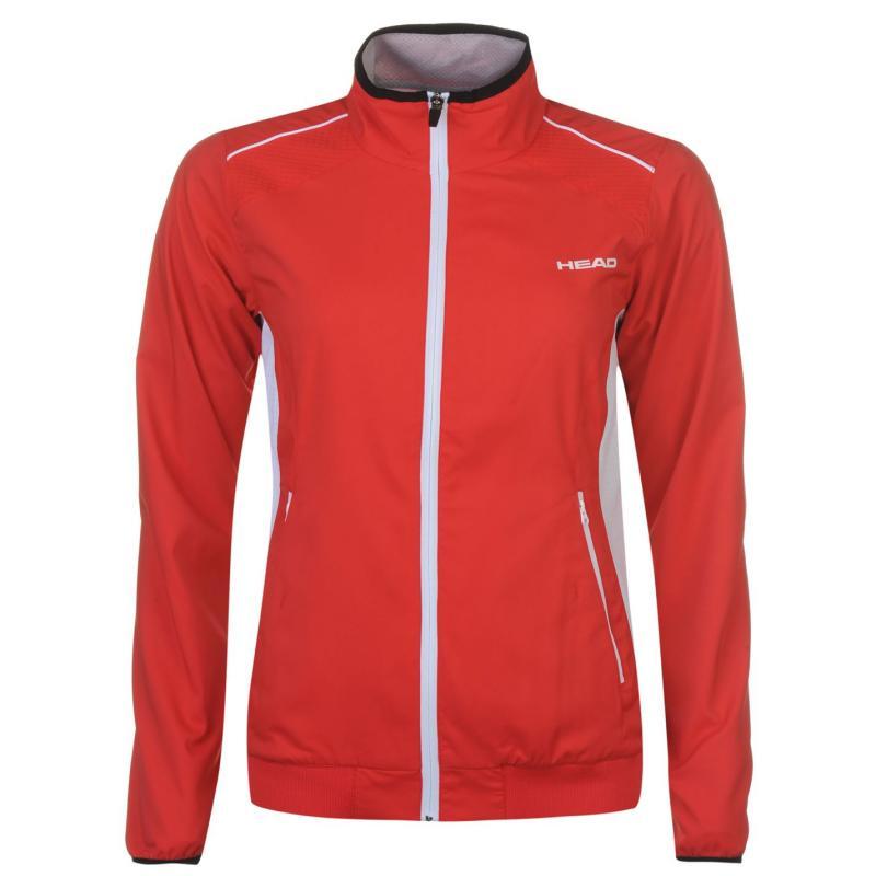 HEAD Club Jacket Ladies Red