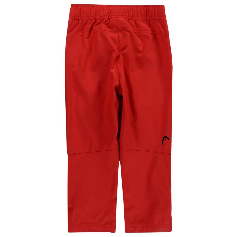 Tepláky HEAD Club Kids Trousers Red