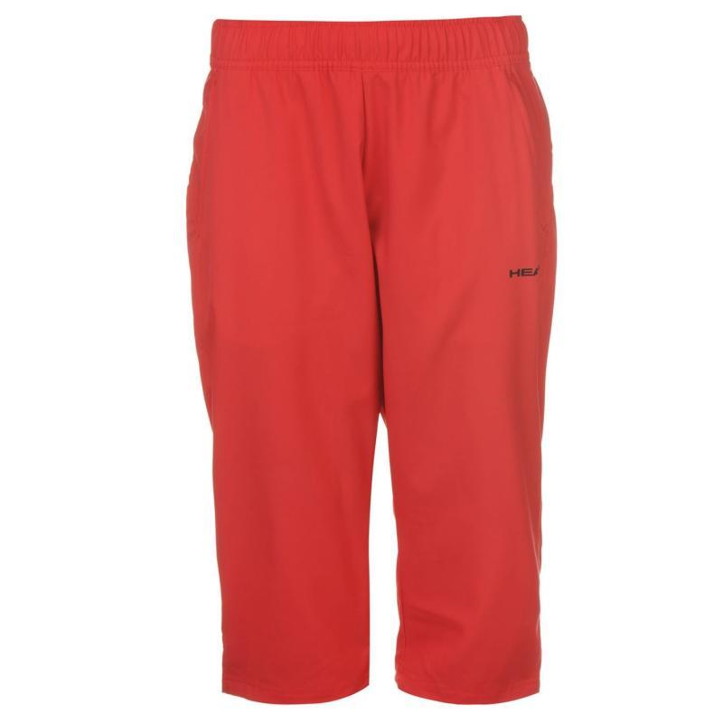 Sportovní kalhoty HEAD Club W Capri Pants Ladies Green