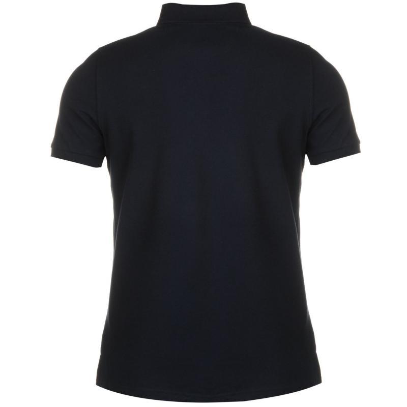 Hurlingham Polo 1875 Essential Sport Polo Shirt Mens Navy