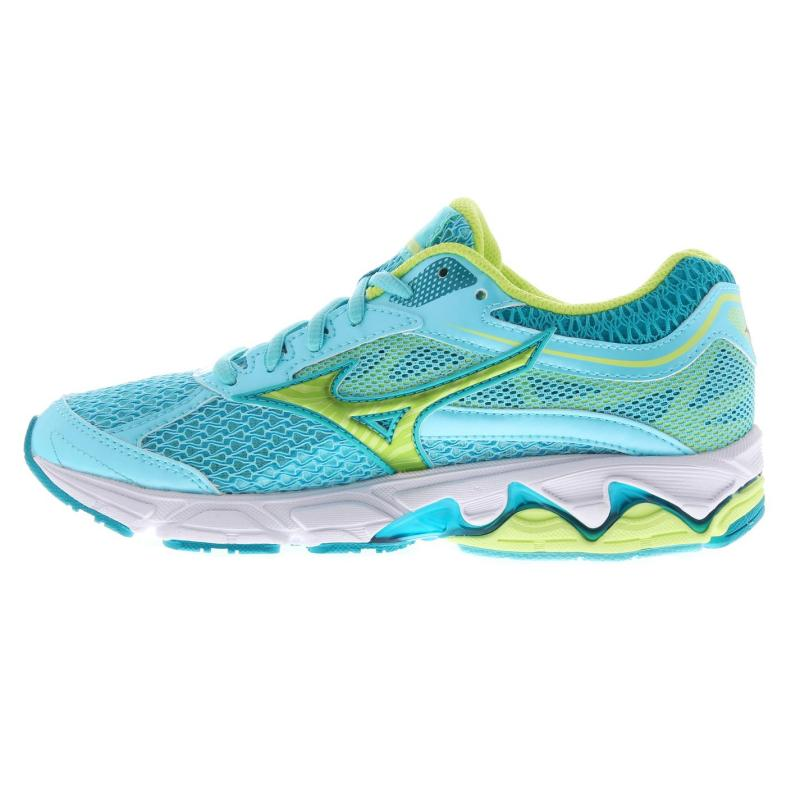 Mizuno Wave Equate Ladies Running Shoes Blue/Green