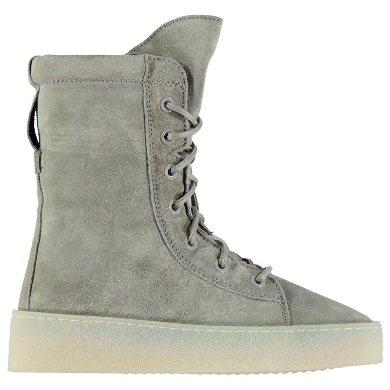 Bronx Silla Boots L Grey Suede