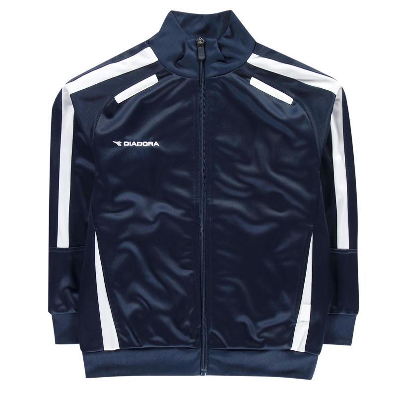 Bunda Diadora Cape Town Jacket Junior Boys Dark Blue