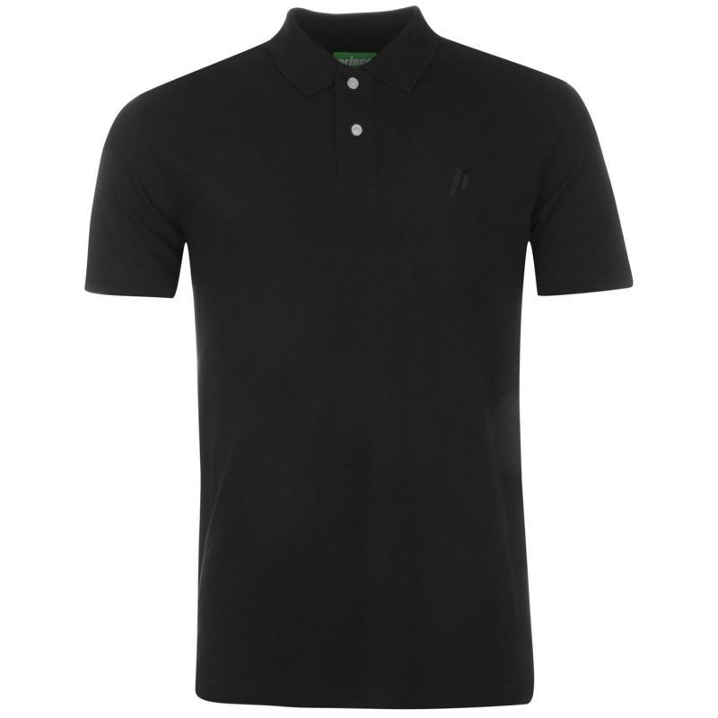 Prince Performance Polo Shirt Mens Black