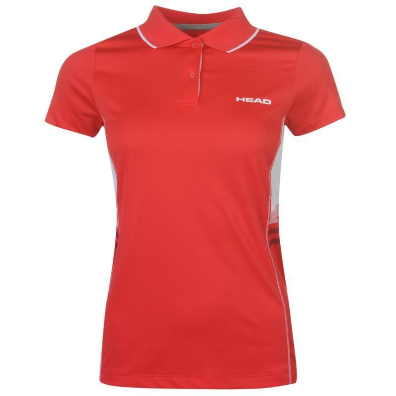 Polokošile HEAD Club W Polo T Shirt Ladies Blue