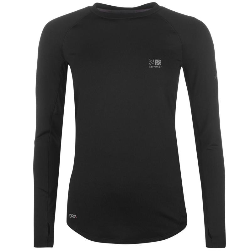 Karrimor XLite Long Sleeve Running Top Ladies Black