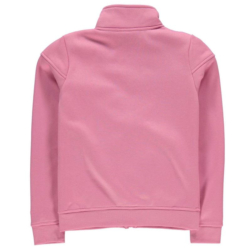 LA Gear Full Zip Fleece Girls Pink