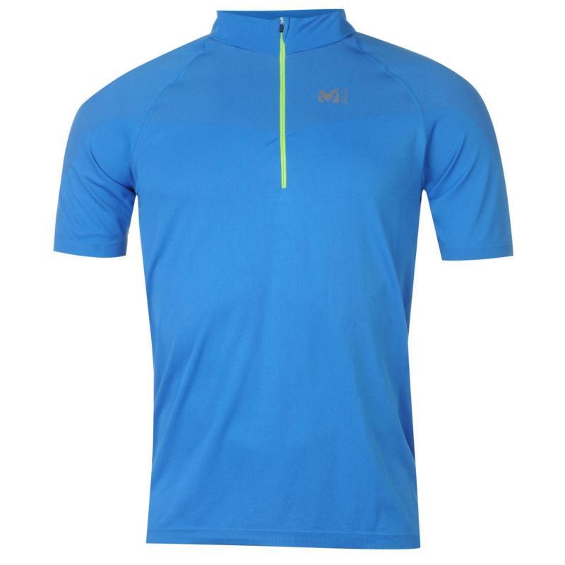 Tričko Millet Seamless T Shirt Mens Blue