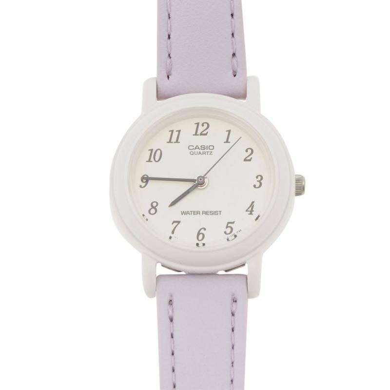 Casio LQ139l Ladies Watch Purple/Silver