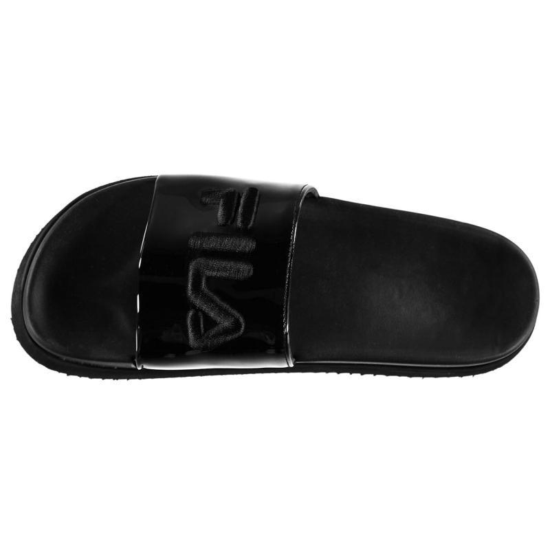 Boty Fila Morro Bay Zeppa Ladies Sliders Black/Black