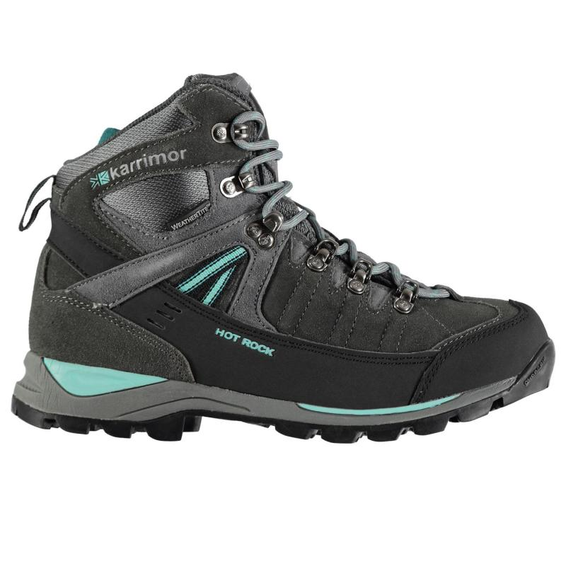 Karrimor Hot Rock Ladies Walking Boots Charcoal