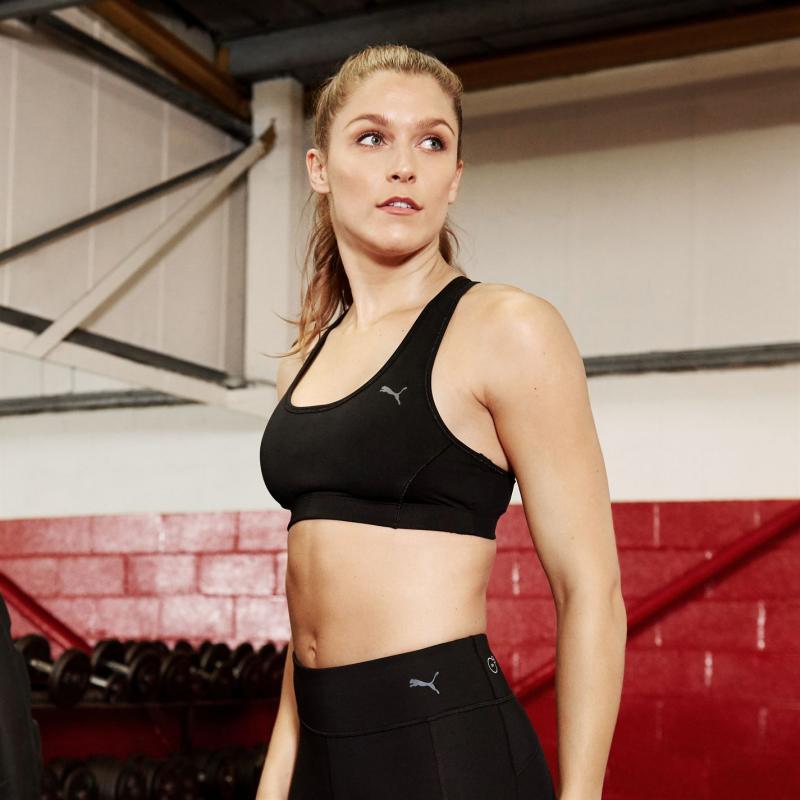 Puma Essentials Gym Bra Ladies Black